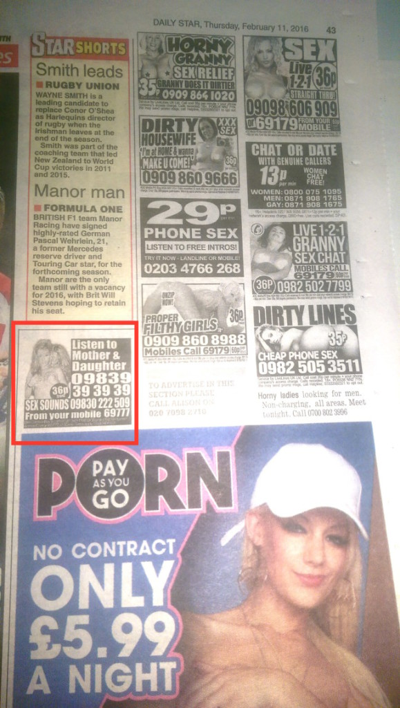 daily star sex