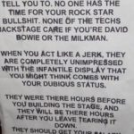 Henry Rollins' Rules of Rock