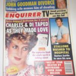 PRINCESS DIANA GOES SEX MAD – and other National Enquirer exclusives