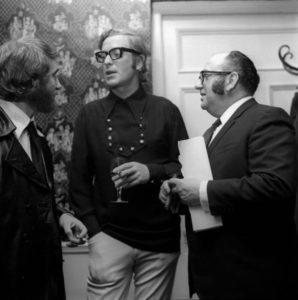 Mike Hodges, Michael Caine and Michael Klinger