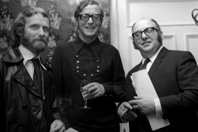Mike Hodges, Michael Caine and Michael Klinger