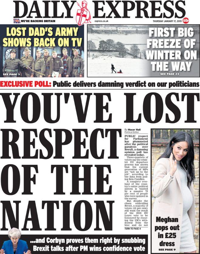 Brexit corbyn Express