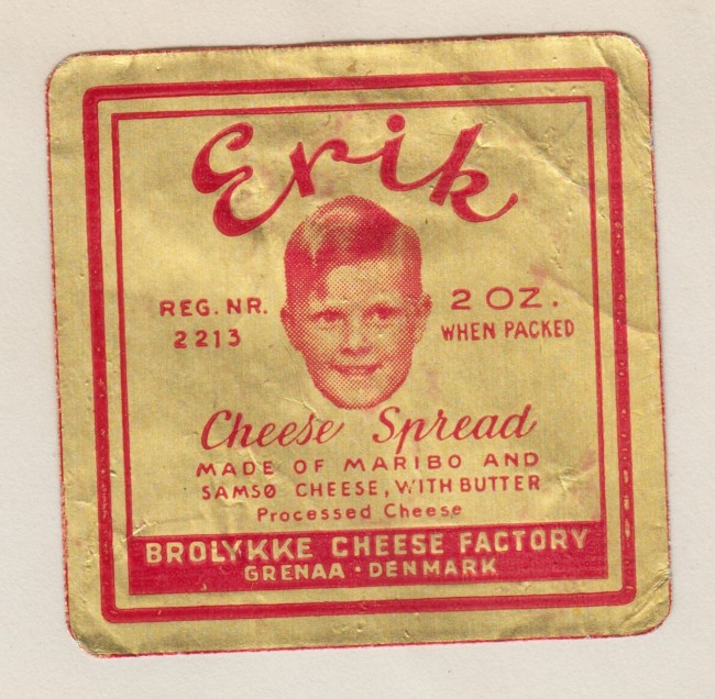 Cheese Museum Flashbak vintage labels