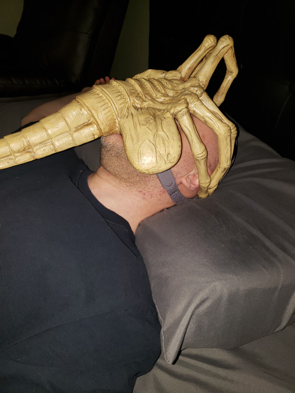 CPAP Mask  Alien Facehugger