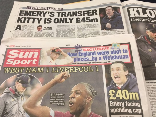 Arsenal transfer budget