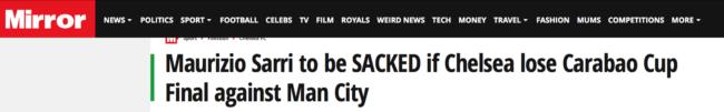 sarri sacked