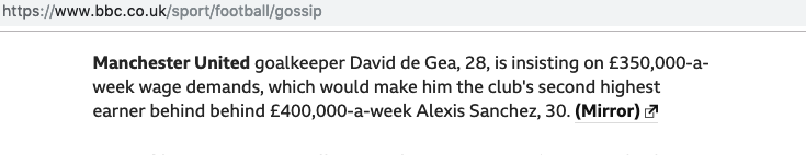 Manchester United BBC