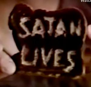 satan lives toaster