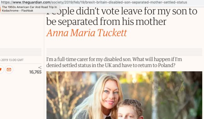Anna Maria Tuckett Guardian