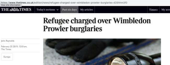 Asdrit Kapaj Wimbledon burglaries