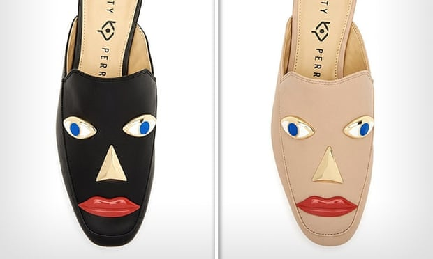 Katy Perry blackface shoes