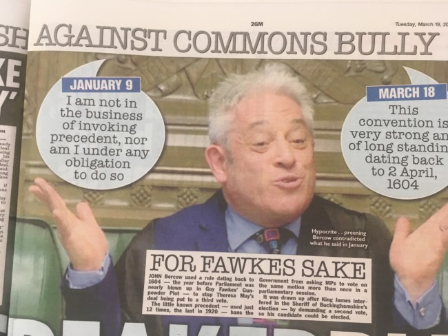 John Bercow Brexit