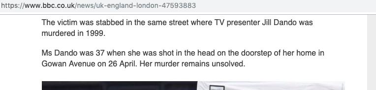 Fulham murder