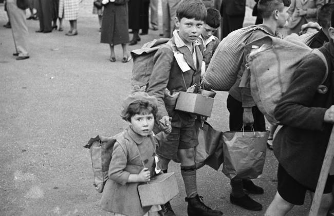 Wales evacuees