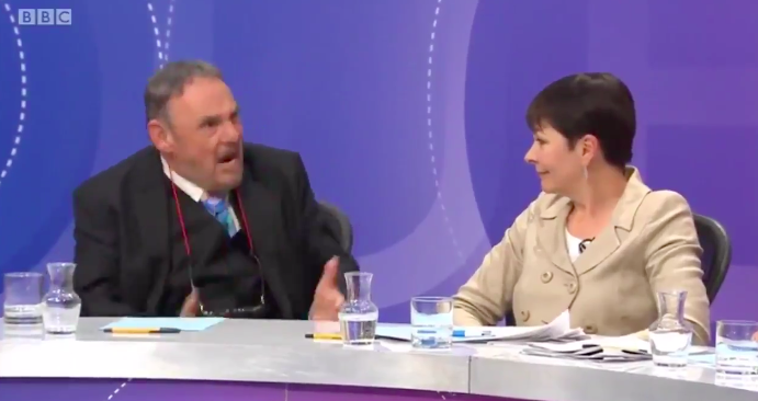 John Rhys-Davies Adam Ant Question Time