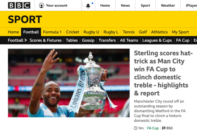 raheem sterling fa cup final