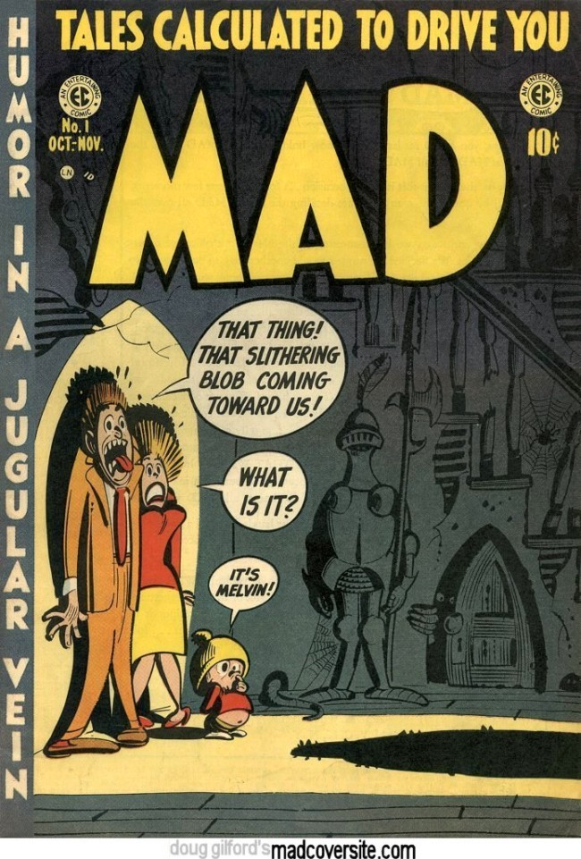 Mad magazine cover 1
