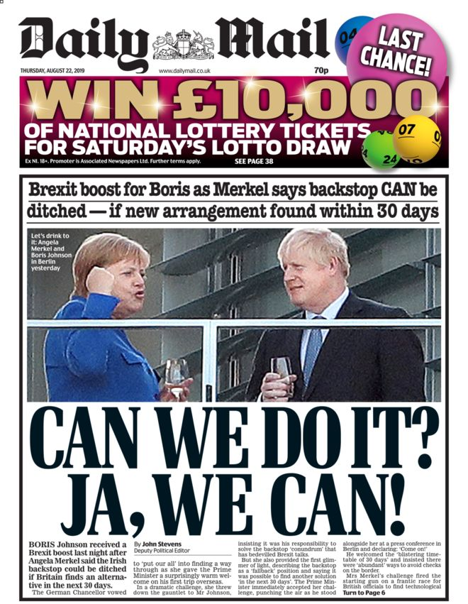 Daily Mail Brexit