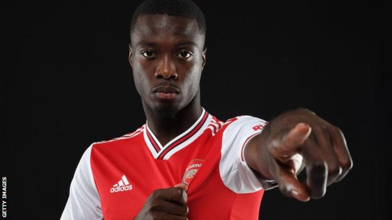 arsenal get serious nicolas pepe becomes a gooner for 72m. Black Bedroom Furniture Sets. Home Design Ideas