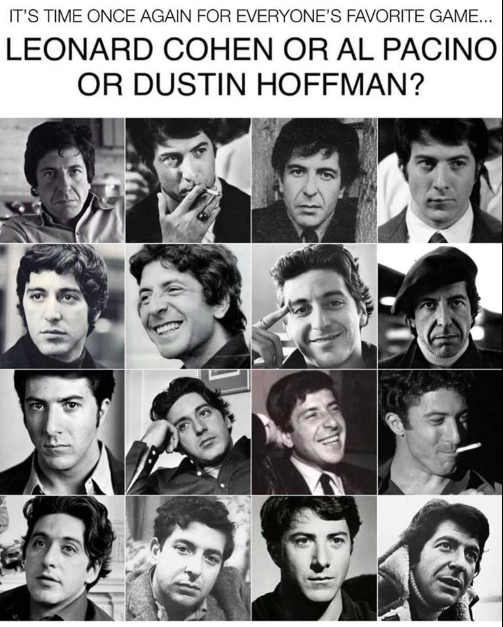 Cohen Pacino Hoffman game