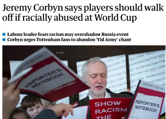 Corbyn racist