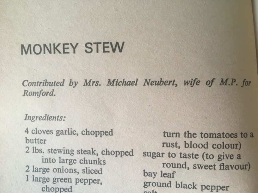 The True Blue Cookery Book