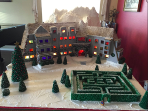the shining in gingerbread