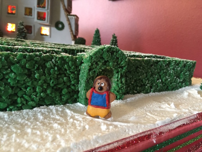 the shining gingerbread