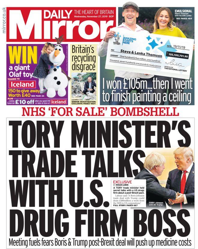 daily mirror corbyn
