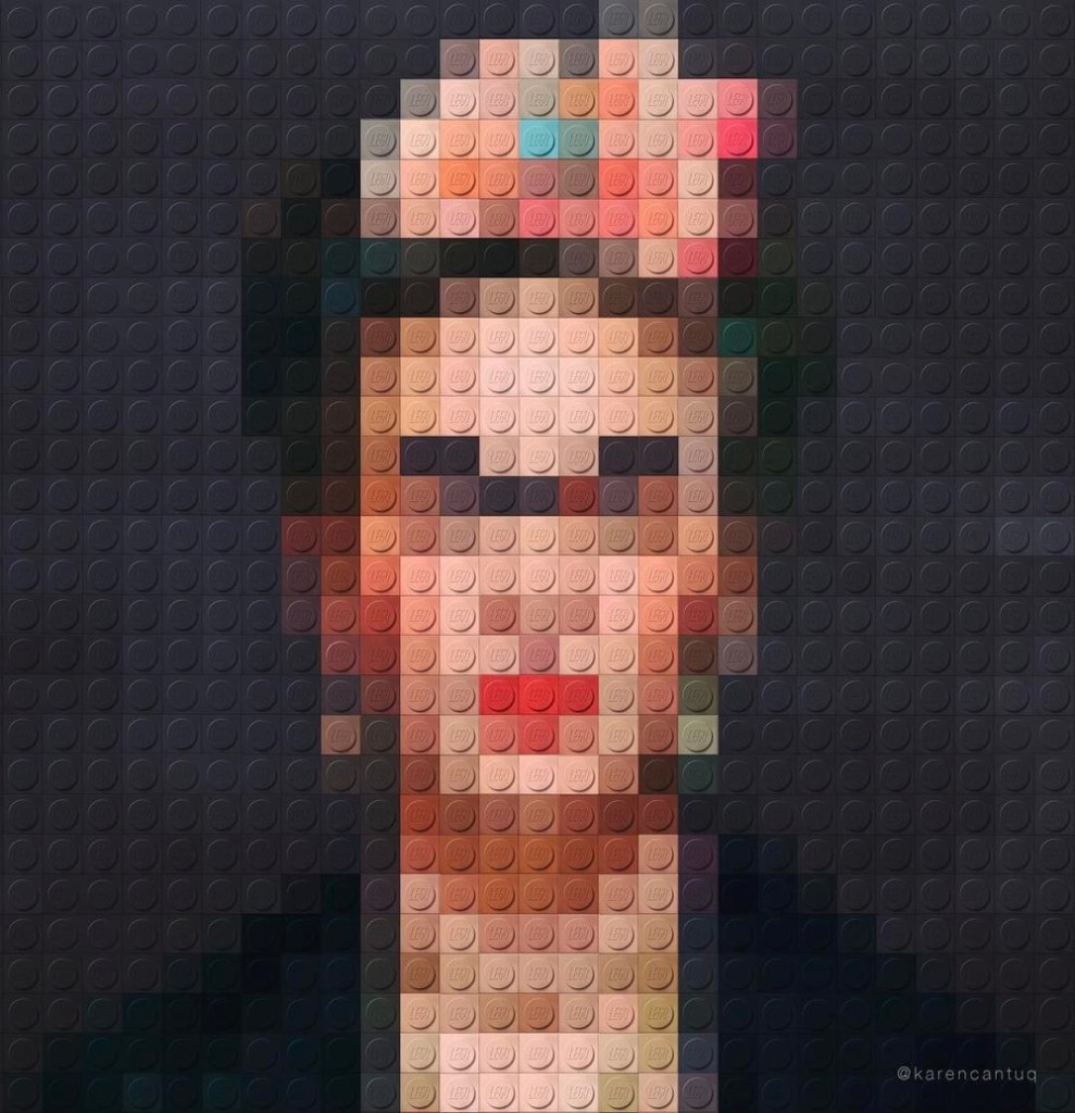 Frida Kahlo in Lego