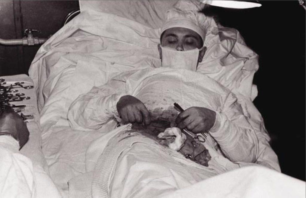 Leonid Rogozov operation appendix antartica