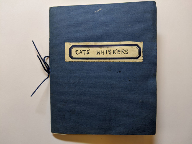 cat whiskers 1941