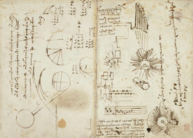 Read Leonardo da Vinci's notebooks online