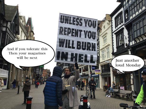 Manic Chester preacher