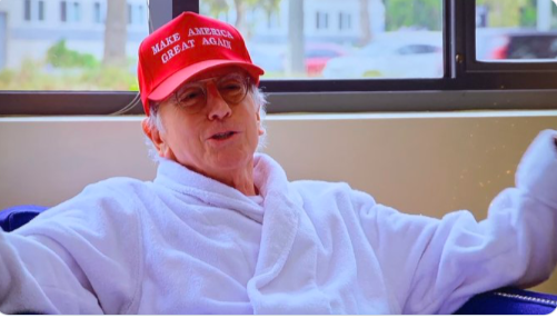 larry david donald trump
