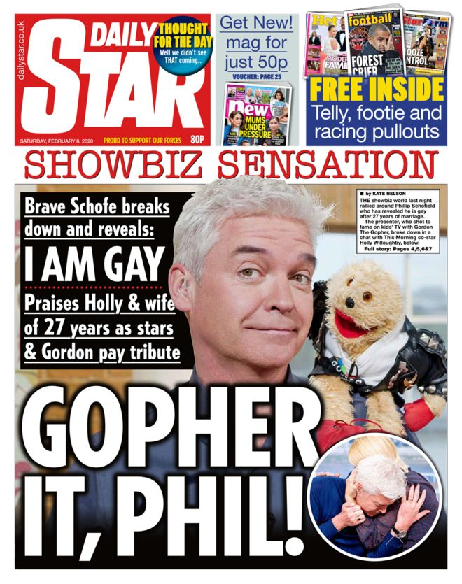 Phillip Schofield gay