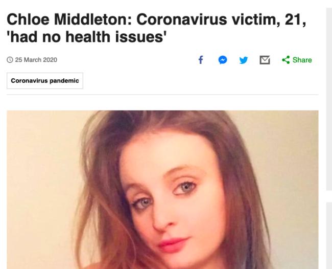 Covid-19 coronavirus reporting