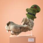 3D artist Filip Hoda makes fossilised skulls of famous cartoon characters