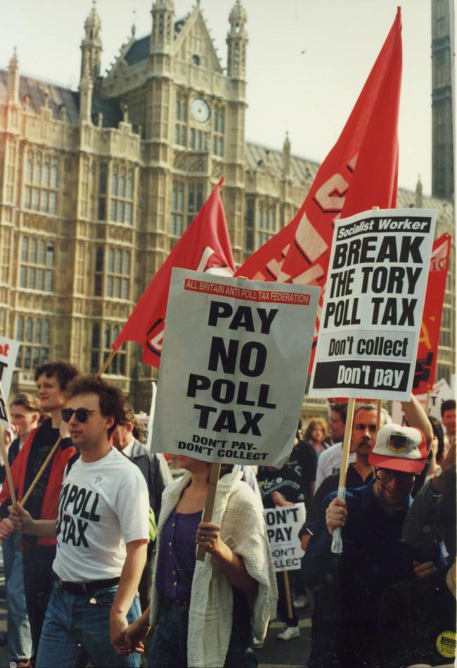 poll tax riot