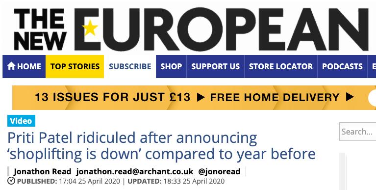 New European bias
