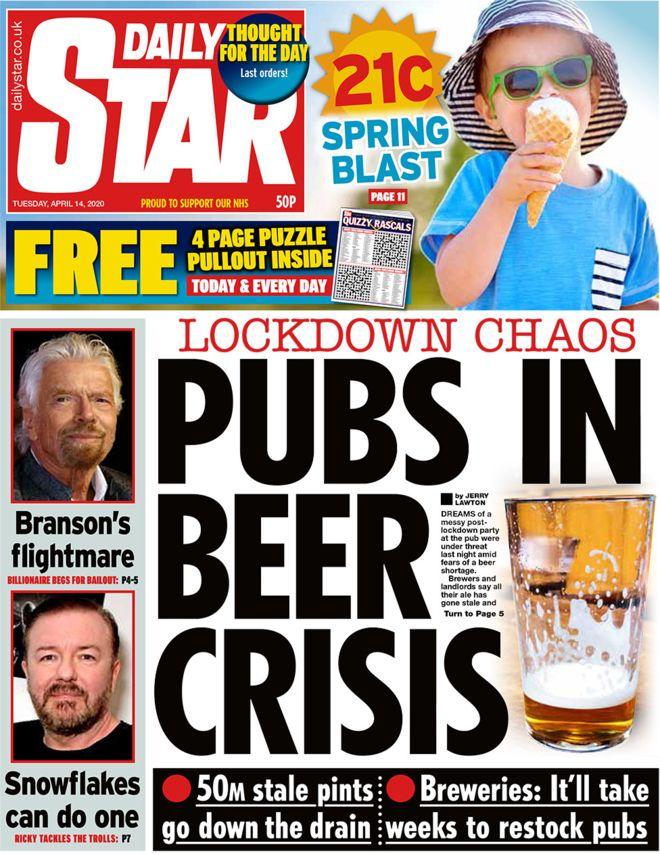 Beer stale coronavirus