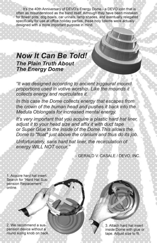 Devo energy dome coronavirus