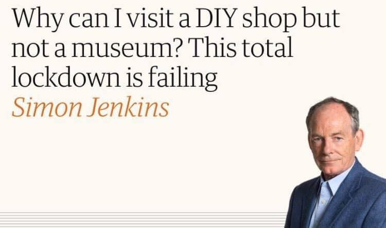 Simon Jenkins Covid-19