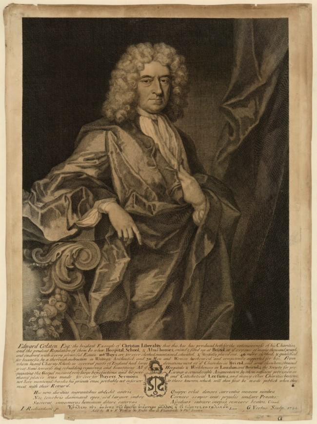 1722 portrait by George Vertue, after Jonathan Richardson
