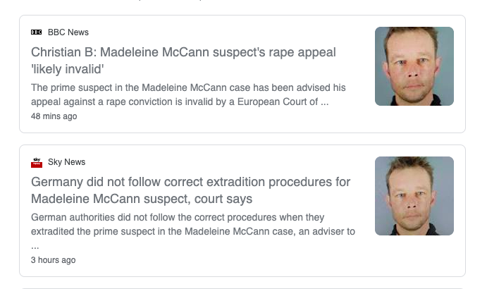 Maddie Mccann rape Brueckner