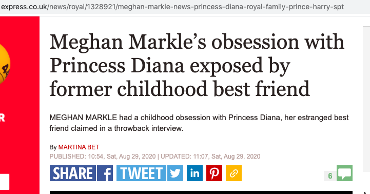 Meghan Markle Daily Express