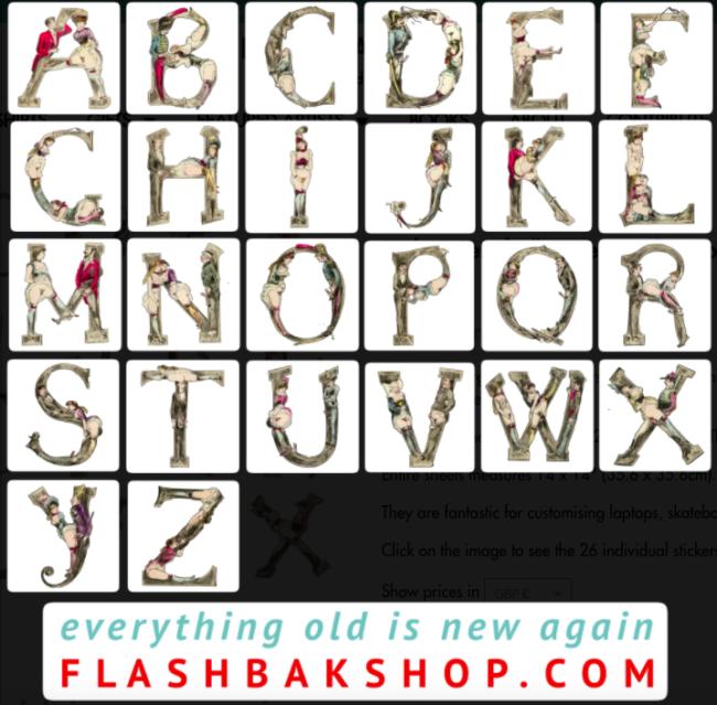 Joseph Apoux's Alphabet Pornographique