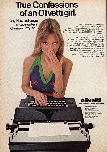 Shere Hite Olivettit sexist