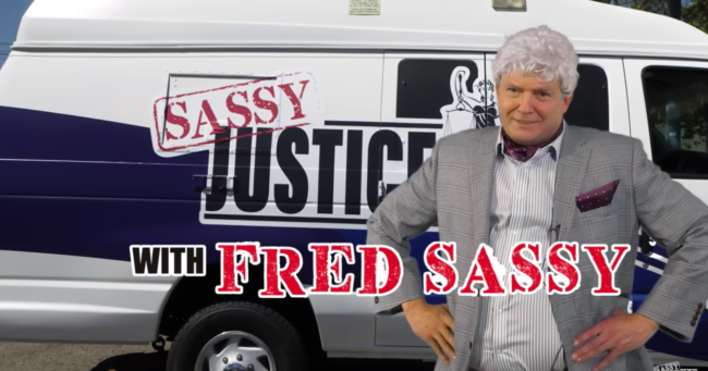 Fred sassy sassy justice