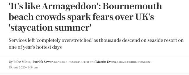 Covid bournemouth